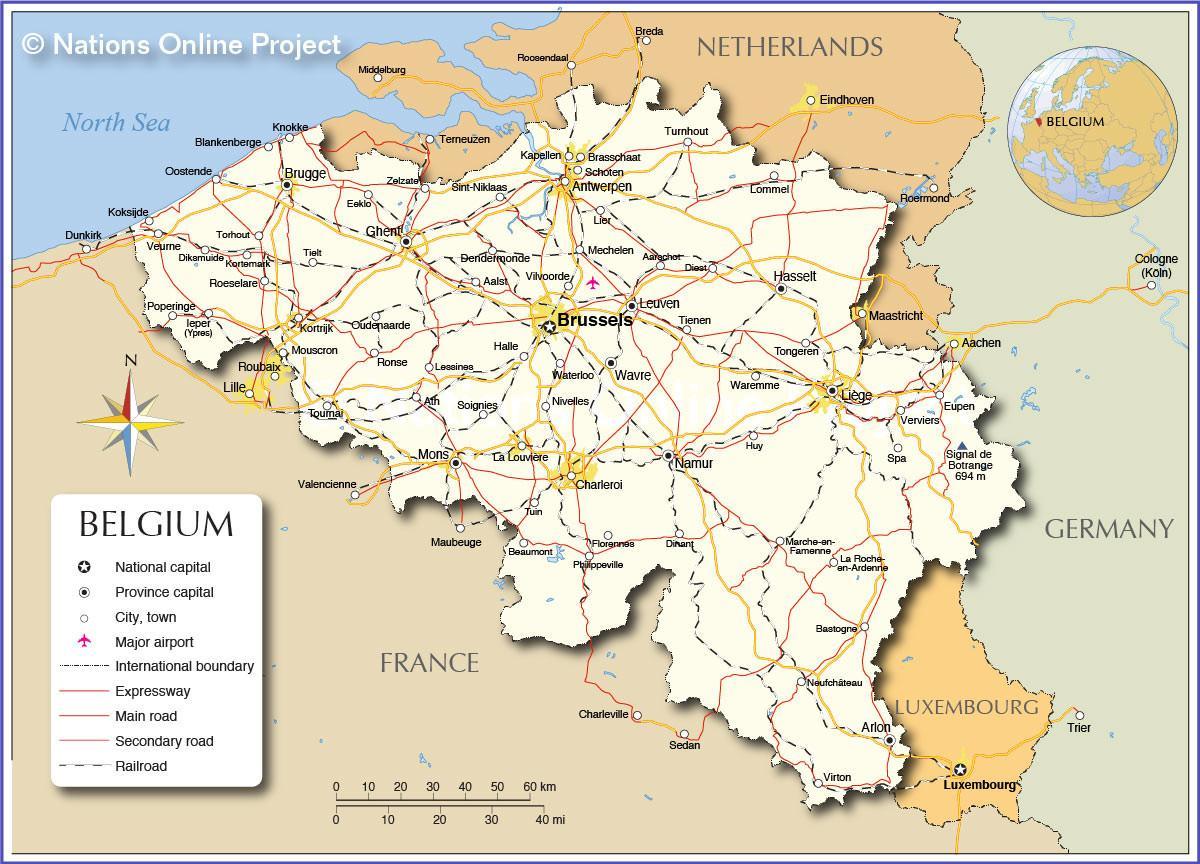 Bruxelles, belgique map - carte du Métro de Bruxelles en ...
