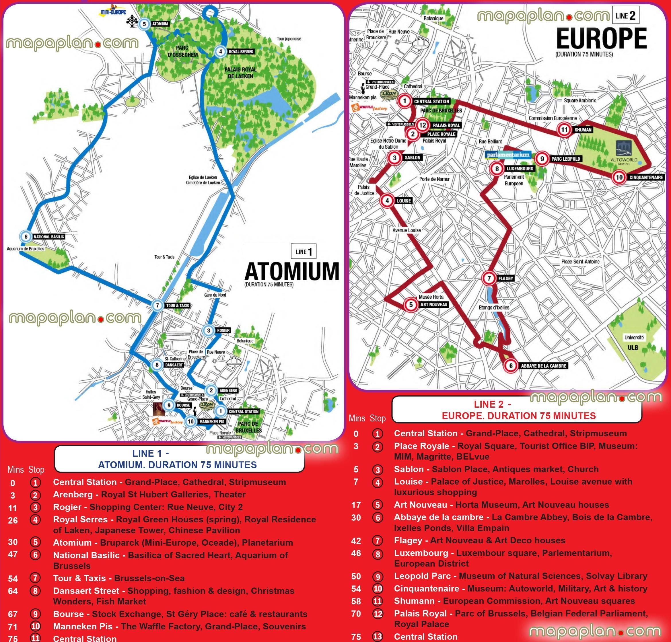 Bruxelles Carte De Visites Pdf